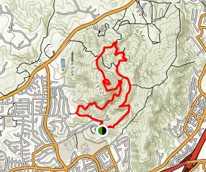 Nighthawk Trail Black Mountain Loop Map