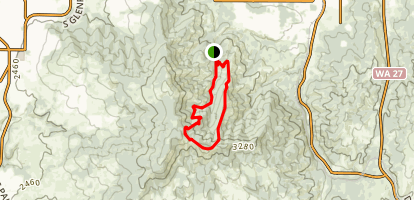 Iller Creek Conservation Area Trail Map