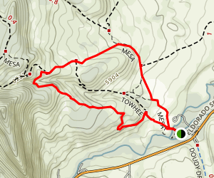Homestead and Mesa Loop Trail Map