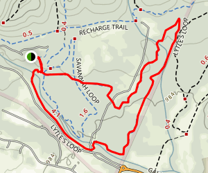 Lytle's Loop Trail Map