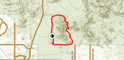 Pass Mountain Trail  Map