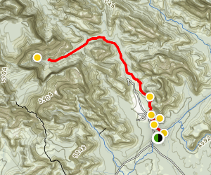 Boynton Canyon Trail Map