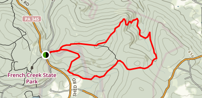 French Trail Map