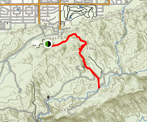 Holbert Trail Map