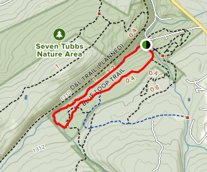 Seven Tubs Nature Area Map