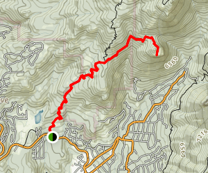 Suicide Rock Trail Map