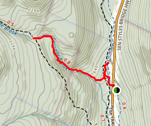 Basin Cascade Trail Map