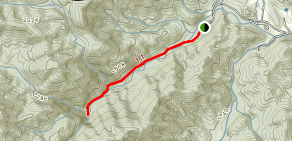 Catawba Falls Trail Map