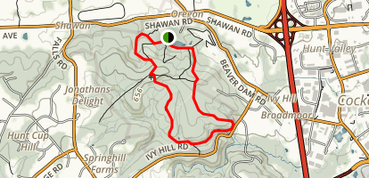 Oregon Ridge Park Trail Map