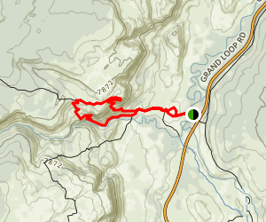 Mystic Falls Trail Map
