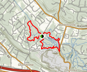 Washington Valley Park Trail Map