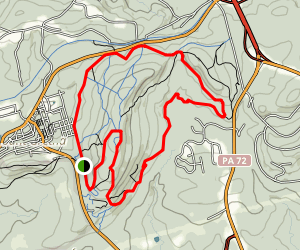 Governor Dick Observation Tower Loop Map