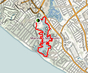Mariners' Museum Park Trails Map