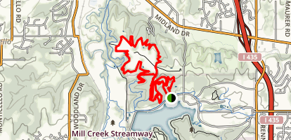 Shawnee Mission Park Map