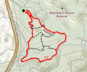 Wild Basin Trail Map