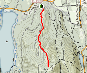 Cadillac North Ridge Trail Map