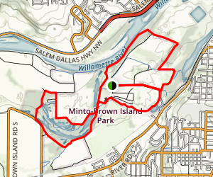 Minto-Brown Island Park Map