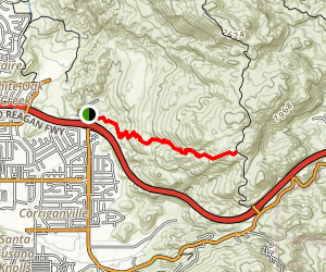 Hummingbird Trail Map