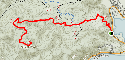 Grays Peak Trail [CLOSED] Map
