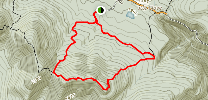 Indian Head Mountain Loop Map