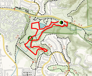 Carbon Canyon Nature Trail Map