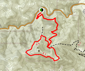 Mount Galbraith Loop Map