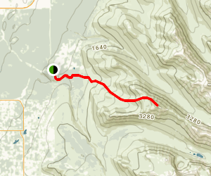Wolverine Peak Trail Map