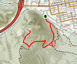 Mount Royal Trail Map