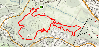 Slaughter Creek Trail Loop Map