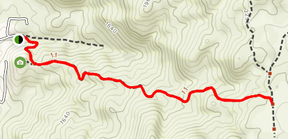 Two Tree's Trail Map