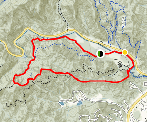 Art Loeb and North Slope Loop Map