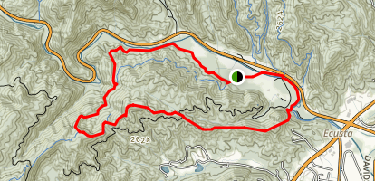 Art Loeb Loop Trail Map