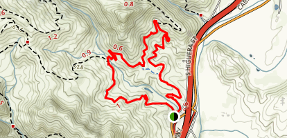 Johnson Ranch Trail B (Lucy) Map