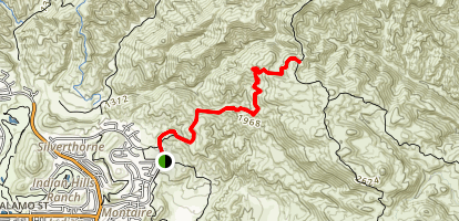 Chumash Trail Map