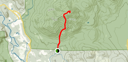 Mount Kearsarge North Map