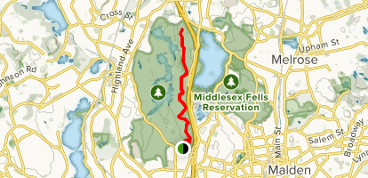 Two Towers Hike Map