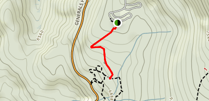 General Sherman Tree Trail Map