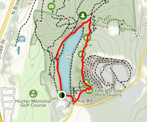 Chauncey Peak Trail Map
