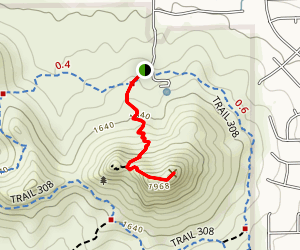 Lookout Mountain Summit Trail Map