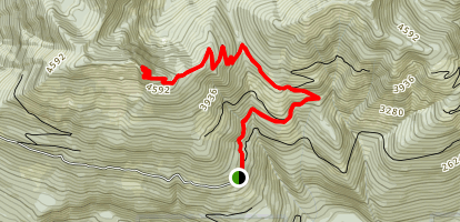 Beckler Peak  Map