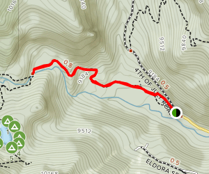 Hessie Trail Map