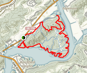 Haw Ridge Lake Trail Map
