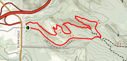 Taylor Mountain Trail Map