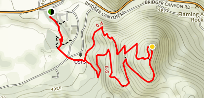 Drinking Horse Trail Map