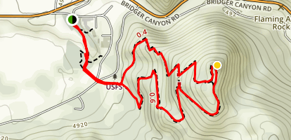 Drinking Horse Mountain Trail Map