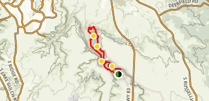 Inner Canyon Loop Trail Map