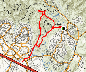 Dreaded Hill Loop Trail Map