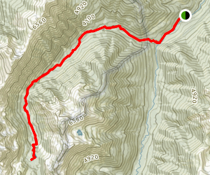 Royal Basin Trail Map