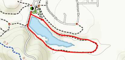 Discovery Lake and Hills Loop Map