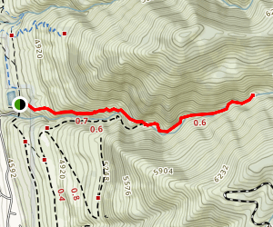Centerville Canyon Trail Map